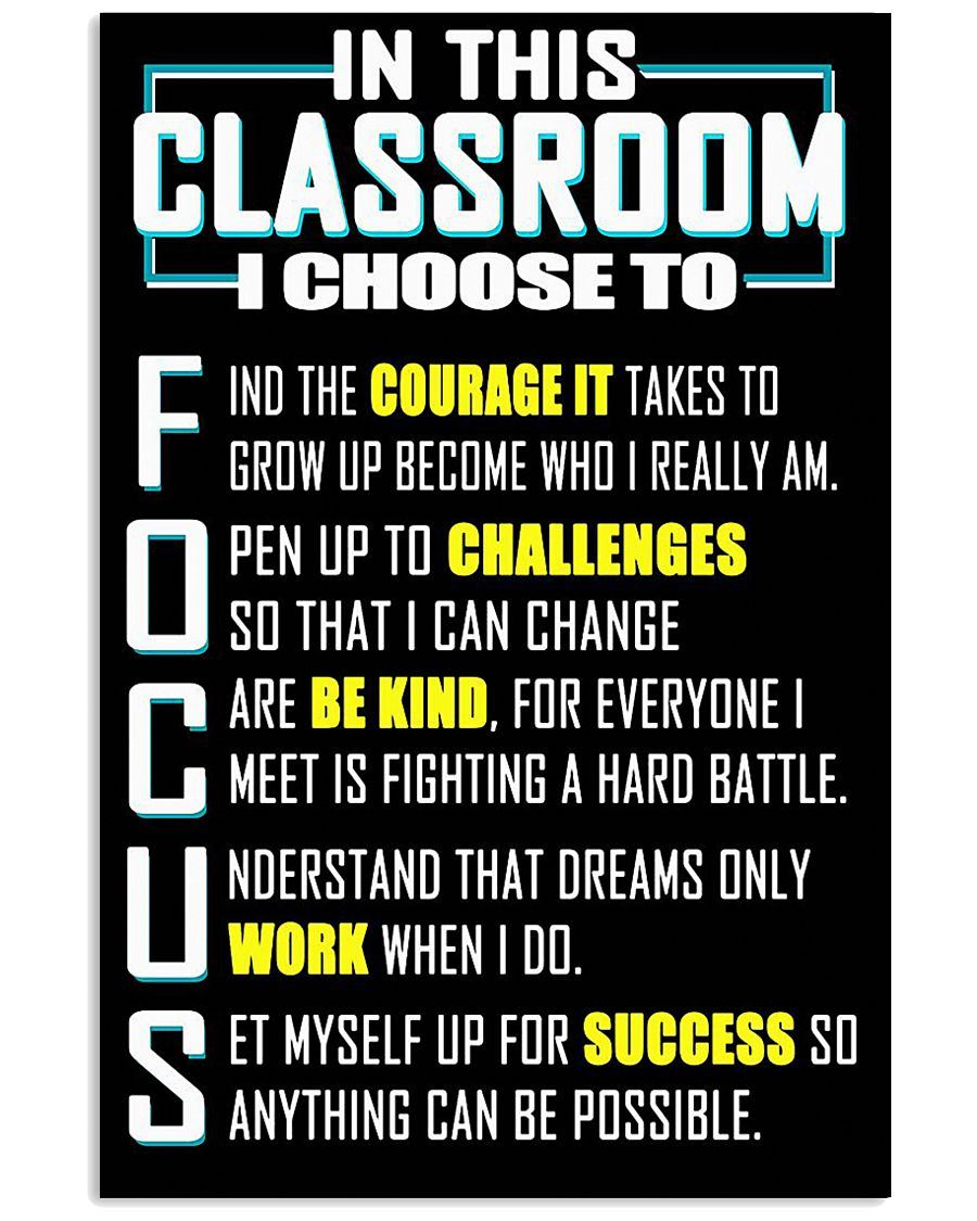 CLASSROOM 11x17 Poster