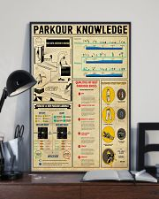 Parkour Knowledge 11x17 Poster lifestyle-poster-2
