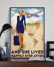 Flight Attendant Poster 24x36 Poster lifestyle-poster-2