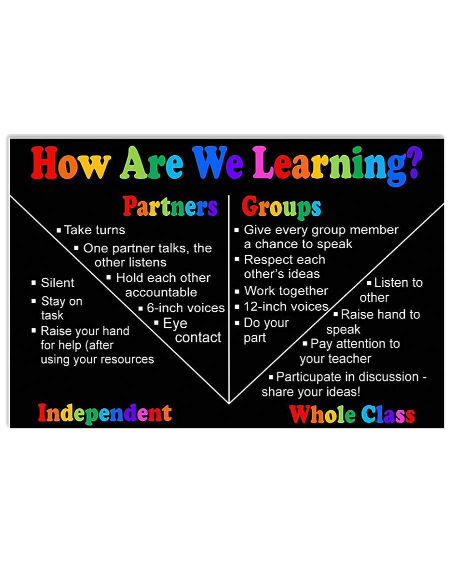 LEARNING 17x11 Poster