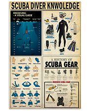 SCUBA DIVER 24x36 Poster front