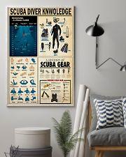 SCUBA DIVER 24x36 Poster lifestyle-poster-1