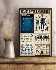 SCUBA DIVER 24x36 Poster lifestyle-poster-3