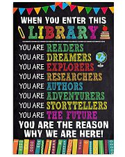 LIBRARY 11x17 Poster front