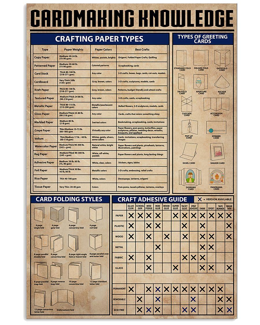 cardmaking 11x17 Poster