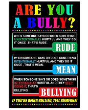 ARE YOU A BULLY 11x17 Poster front