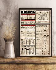 Drums 11x17 Poster lifestyle-poster-3