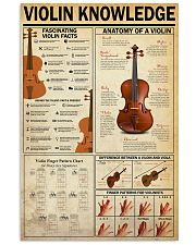 violin 11x17 Poster front