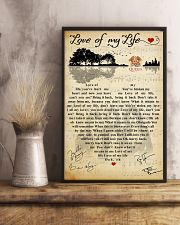 Love of my life 11x17 Poster lifestyle-poster-3