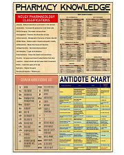 poster-PHARMACY 11x17 Poster front