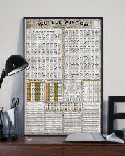 Ukulele chord chart 11x17 Poster lifestyle-poster-2