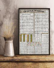 Ukulele chord chart 11x17 Poster lifestyle-poster-3