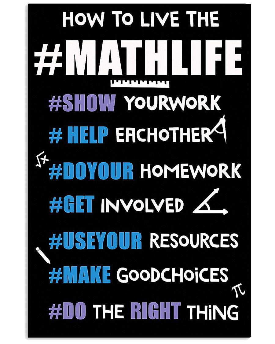 MATHLIFE 11x17 Poster