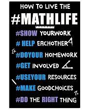 MATHLIFE 11x17 Poster front