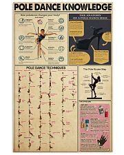 POLE DANCE 11x17 Poster front