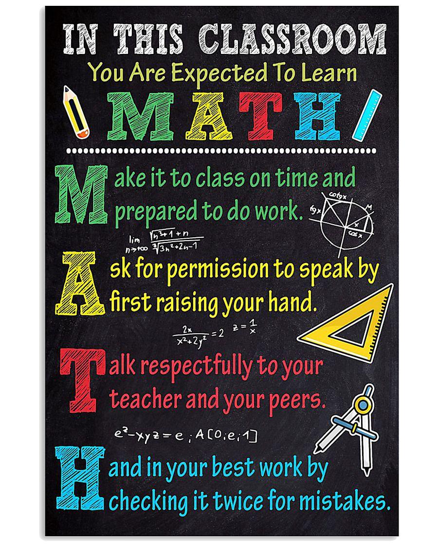 MATH 11x17 Poster