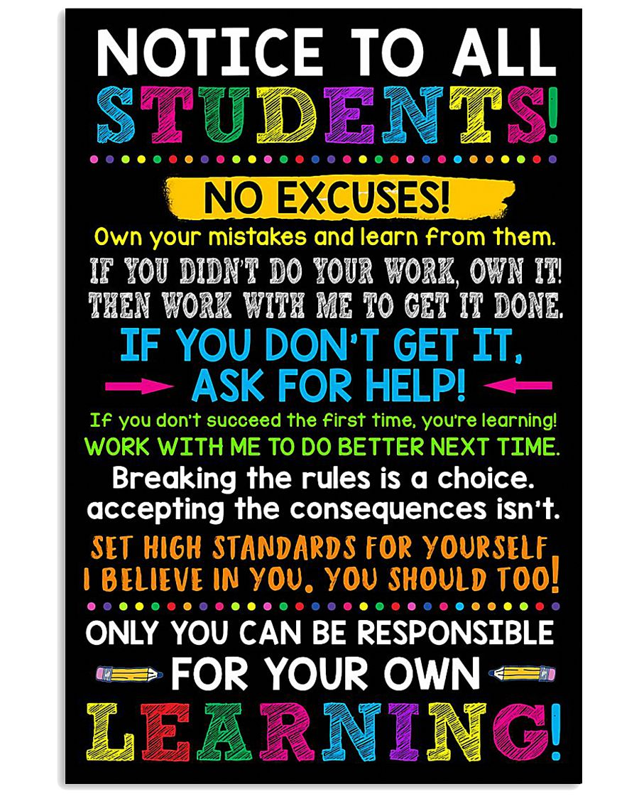 STUDENTS 11x17 Poster
