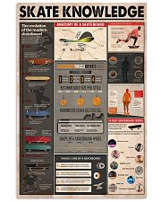 SKATE KNOWLEDGE 24x36 Poster front