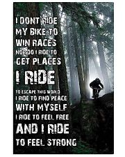 Cycling 11x17 Poster front