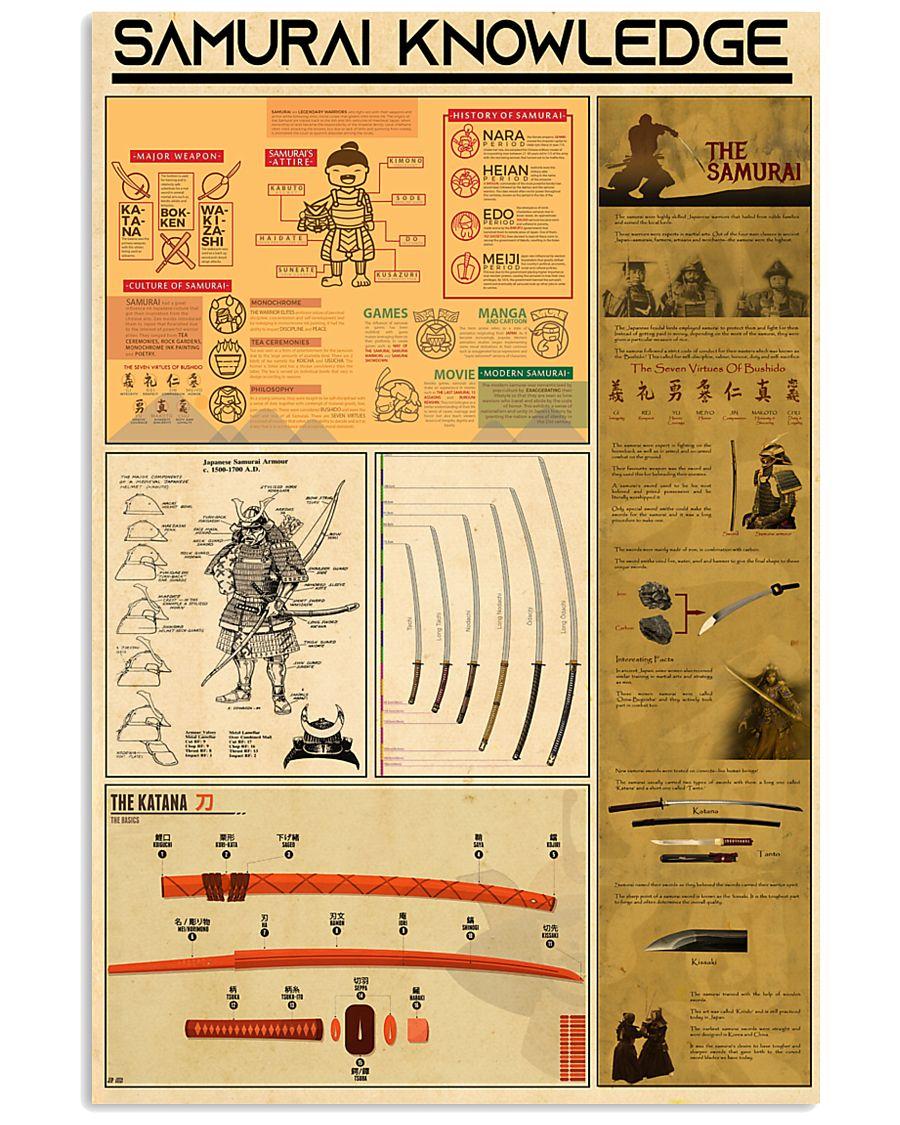 SAMURAI KNOWLEDGE 24x36 Poster