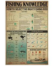 FISHING 24x36 Poster front