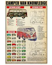 camping bus 11x17 Poster front