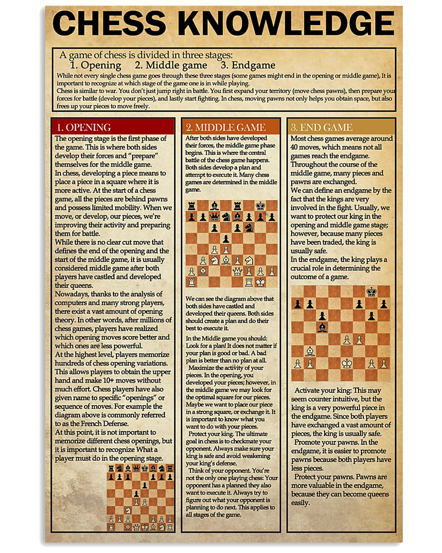 CHESS 24x36 Poster