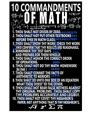 TEACHERS MATH 11x17 Poster front
