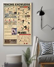 FENCING KNOWLEDGE 24x36 Poster lifestyle-poster-1