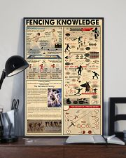FENCING KNOWLEDGE 24x36 Poster lifestyle-poster-2