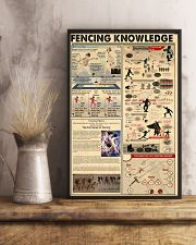 FENCING KNOWLEDGE 24x36 Poster lifestyle-poster-3