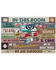 SURGEONS 17x11 Poster front