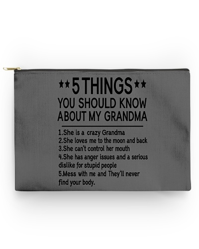 5 THINGS YOU SHOULD KNOW ABOUT MY GRANDMA