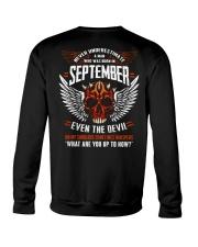 SEPTEMBER - EVEN THE DEVIL Crewneck Sweatshirt thumbnail