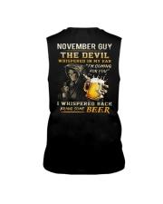 NOVEMBER - THE DEVIL BEER Sleeveless Tee thumbnail