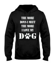 I LOVE MY DOG Hooded Sweatshirt front