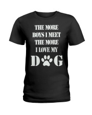 I LOVE MY DOG Ladies T-Shirt thumbnail