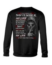 NOVEMBER - MY LIFE Crewneck Sweatshirt thumbnail