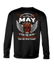 MAY - EVEN THE DEVIL Crewneck Sweatshirt thumbnail