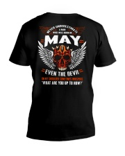 MAY - EVEN THE DEVIL V-Neck T-Shirt thumbnail