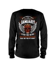 JANUARY - EVEN THE DEVIL Long Sleeve Tee thumbnail