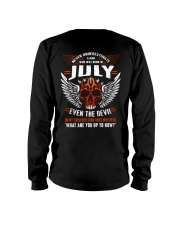 JULY - EVEN THE DEVIL Long Sleeve Tee thumbnail