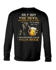 JULY - THE DEVIL BEER Crewneck Sweatshirt thumbnail