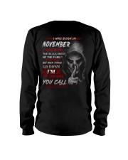 NOVEMBER - YOUCALL Long Sleeve Tee thumbnail