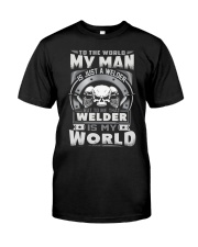 I am A welder 5 Premium Fit Mens Tee tile