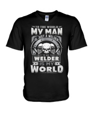 I am A welder 5 V-Neck T-Shirt thumbnail