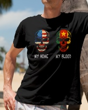 My home and My Blood Classic T-Shirt lifestyle-mens-crewneck-front-11