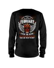 FEBRUARY - EVEN THE DEVIL Long Sleeve Tee thumbnail