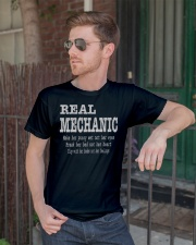 I am A Real Man Classic T-Shirt lifestyle-mens-crewneck-front-2