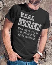 I am A Real Man Classic T-Shirt lifestyle-mens-crewneck-front-4
